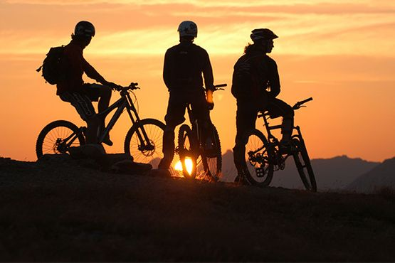 Mountainbike Pension in Fiss